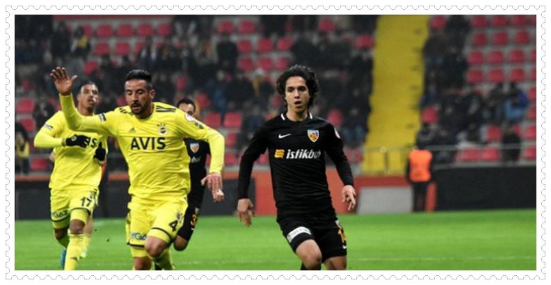 Kayserisporlu futbolcu Emre Demir
